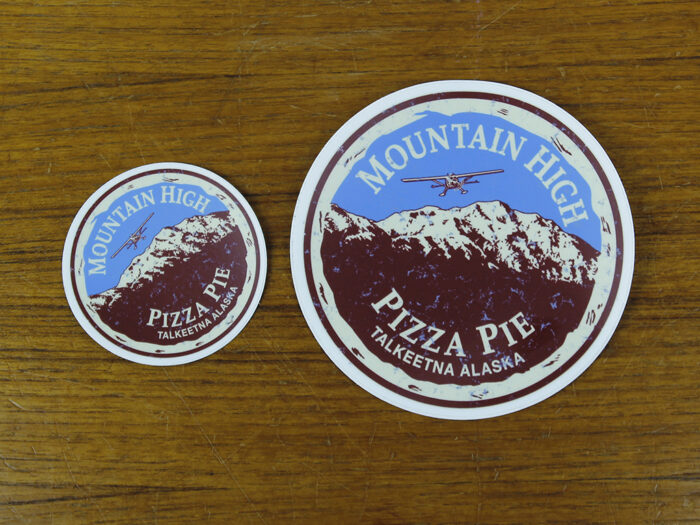 mountain high sticker